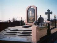 Художественные памятники на кладбище