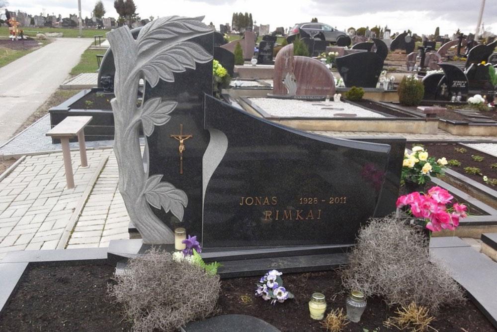 Мемориальный комплекс из двух видов гранитов Балтийская заказ памятника на кладбище Георгиевск